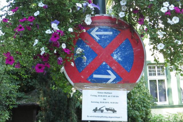 69. Glatzer Wallfahrt in Telgte 2015: Parkverbot für die Glatzer Wallfahrt
