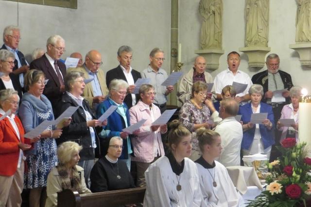 71. Glatzer Wallfahrt in Telgte 2017: Grafschaft Glatzer Chor