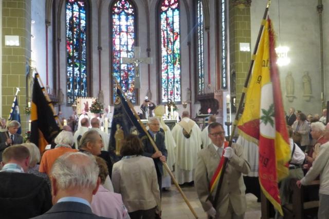 71. Glatzer Wallfahrt in Telgte 2017: Gruppenbild nach dem Festgottesdienst