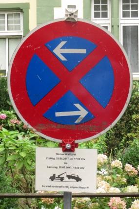 71. Glatzer Wallfahrt in Telgte 2017: Parkverbot für die Glatzer Wallfahrt