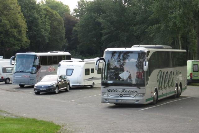 71. Glatzer Wallfahrt in Telgte 2017: Busparkplatz